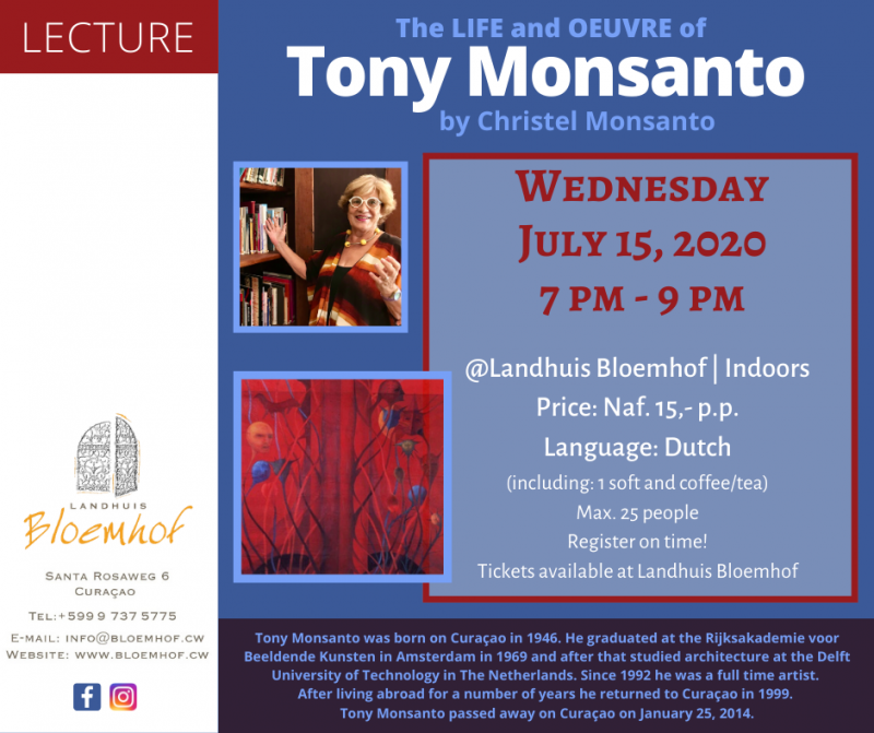 The Life and Oeuvre of Tony Monsanto by Christel Monsanto